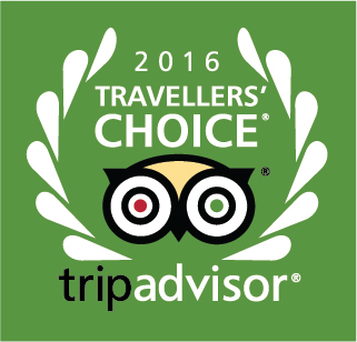 2016 Travelers' Choice TripAdvisor.