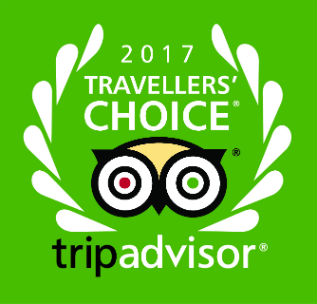 2017 Travelers' Choice TripAdvisor.