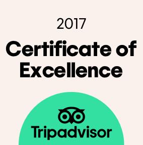 Certyfikat wysokiej jakości TripAdvisor