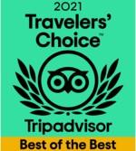 Travelers Choice Best of Best