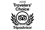 Winner Travelers' choice 2016