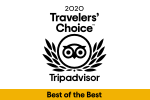 2020 Travelelers' Choice - Trip Advisor