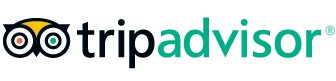 TripAdvisor logo. click here to see our reviews on trip advisor